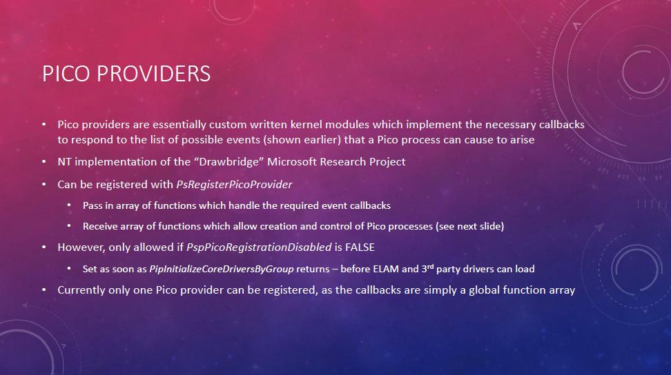 Pico Providers