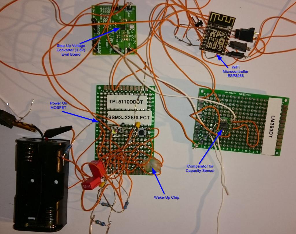 Versuchsaufbau Compass bIOTech v1.0